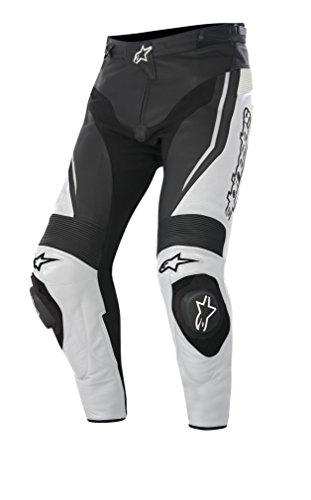 Alpinestars Track Motorradlederhose 15, Farbe schwarz-weiss, Größe 58
