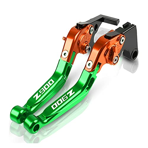 TBXY For Ka-wasaki Z900 2017 2018 2019 2020 Motorcycle CNC Adjustable Extendable Foldable Brake Clutch Levers Handle Brakes Z900 Motorbike Clutch Brake Levers (Color : 2)