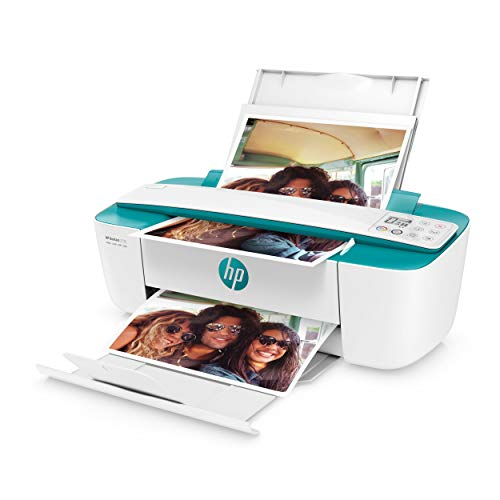 HP DeskJet 3735 Multifunktionsdrucker (Instant Ink, Drucker, Scanner, Kopierer, WLAN, Airprint) dunkelgrün mit 3 Probemonaten HP Instant Ink inklusive