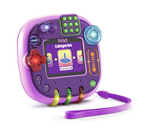 VTech Rockit Twist Console - Rose Translucide - Electrónica para niños (Rosa,...