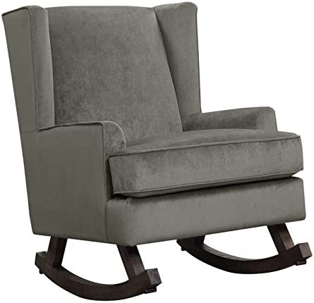 BOWERY Selling HILL Living Room Comfort Fabric Rocking Challenge the lowest price of Japan Armchair Upholste