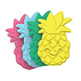 9. Bentgo Buddies Reusable Ice Packs - Slim Ice Packs for Lunch Boxes, Lunch Bags and Coolers - Multicolored 4 Pack (Pineapple)