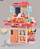 36PCS Kids Kitchen Playsets Little Tykes with Lights and Sounds for Boys Girls