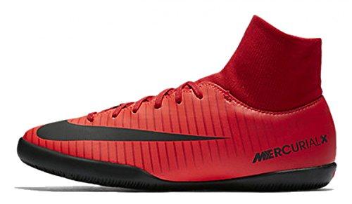 Nike Herren MercurialX Victory VI DF IC Fußballschuhe, Rot (Universität), 46 EU