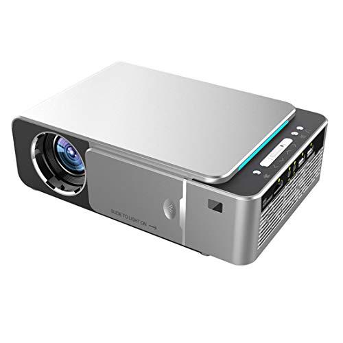Gycdwjh Mini Proyector,Videoproyector Portátil con Bluetooth Soporta 1080P para Juegos de Viaje al Aire Libre Presentaciones de Negocios etc
