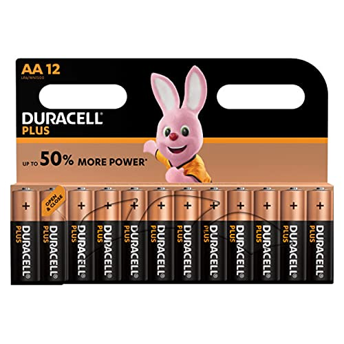 Duracell Batterie AA, Confezione da 12