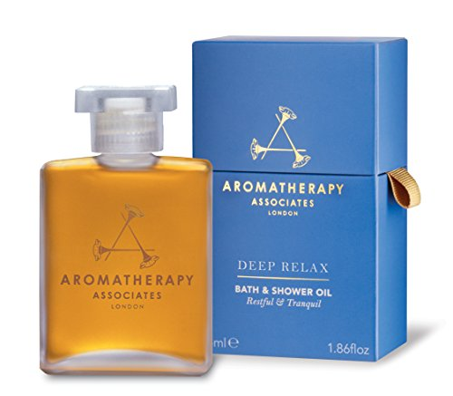 Aromatherapy Associates Deep Relax Bath And Shower Oil, 1.86 Fl Oz, with earthy Vetivert, soothing...