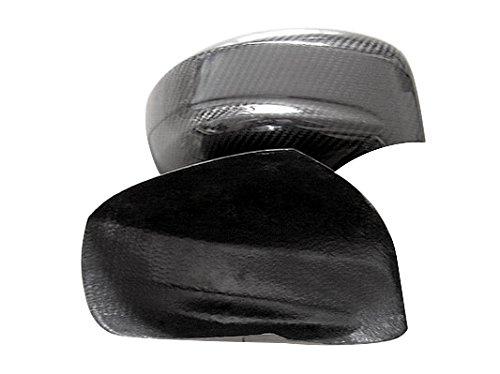 EPR Carbon Fiber Mirror Cover Glossy Finish Side View Frame Kit Fibre Drift Trim Part for Nissan R35 GTR