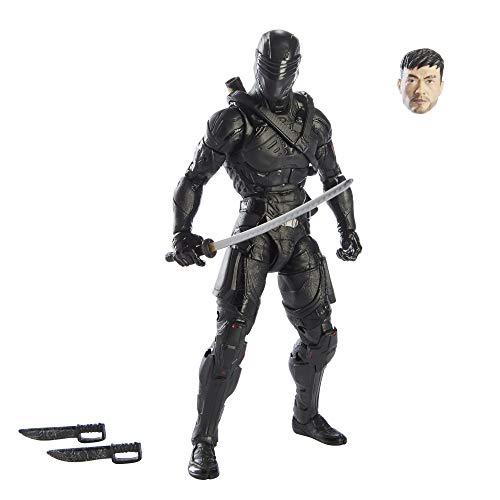 G.I. JOE Classified Series Snake Eyes Origins Snake Eyes Figur 16, Premium 15 cm großes Spielzeug mit spezieller Verpackung