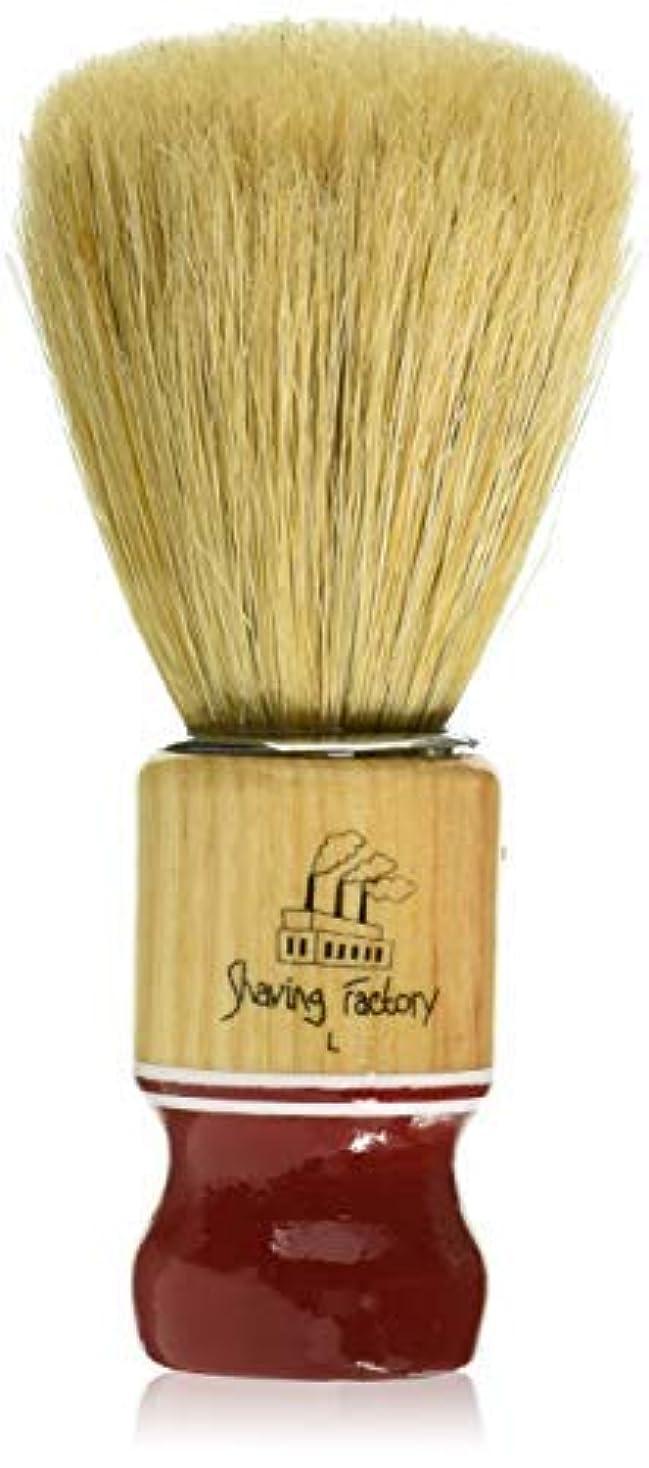 品常識エンジニアShaving Factory Shaving Factory Shaving Brush - Large [並行輸入品]