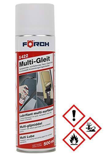 Förch S422 Multi-Gleit Spray 500ml, Gurtgleitspray Gleitspray Formtrennmittel