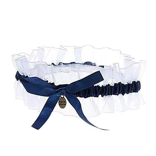 Panty voor bruiloft, elastisch, lint, van kant, Mallalah, modieus accessoire voor de bruid