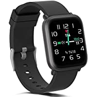 FITVII Fitness Activity Tracker IP68 Waterproof Smartwatch with Heart Rate Monitor for iOS or Android