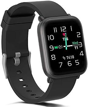 FITVII Fitness Activity Tracker IP68 Waterproof Smartwatch