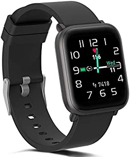Smart Watch for Women Men, Fitness Activity Tracker with Heart Rate Monitor Blood Oxygen Sleep Tracking, Calories Steps Counter, IP68 Waterproof Smartwatch with 18 Sport Modes for iPhone Android Phone