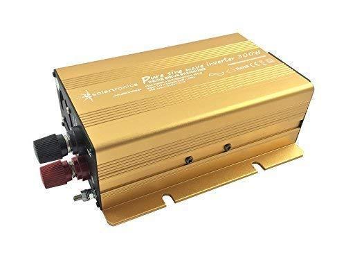 Wechselrichter - Spannungswandler 12V 300 bis 3000 Watt reiner SINUS mit echtem Power USB 2.1A Gold Edition … (300-600 Watt)