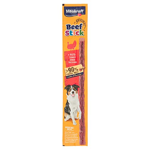 Vitakraft 231100Cani di Snacks Beef Sticks Tacchino, 12G