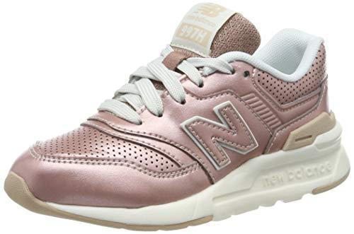 New Balance Mädchen 997h Sneaker, Gold (Rose Gold Rose Gold), 37.5 EU