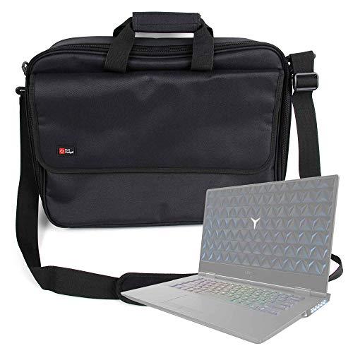 DURAGADGET Maletín Negro para Portátil Lenovo Legion Y530, Lenovo Legion Y730 (15), Lenovo ThinkPad X1 Extreme - Múltiples Compartimentos
