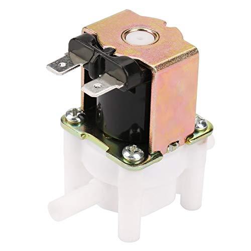 Válvula solenoide, 12v N/C Válvula solenoide de agua de entrada de inserción rápida normalmente cerrada para lavadora de agua pura La válvula de entrada de agua reemplaza