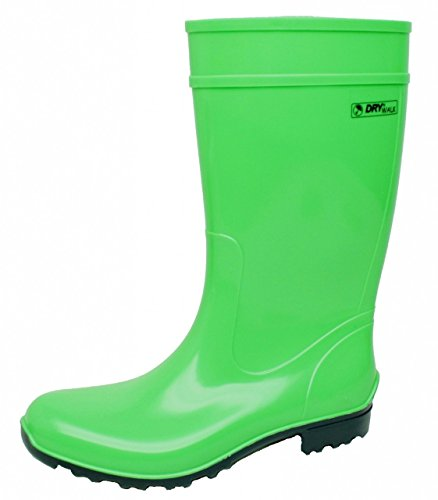Regenliebe Botas de agua para mujer, color Verde, talla 39 EU
