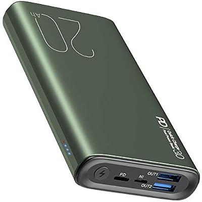 TOZO PB1 PD + QC 3.0 Portable Charger 20000mAh ...
