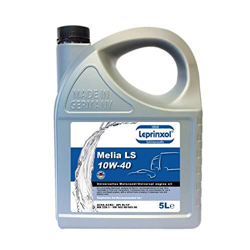 Aceite de motor LML 10W40 para Volkswagen, Audi, Seat y Skoda, 5 litros