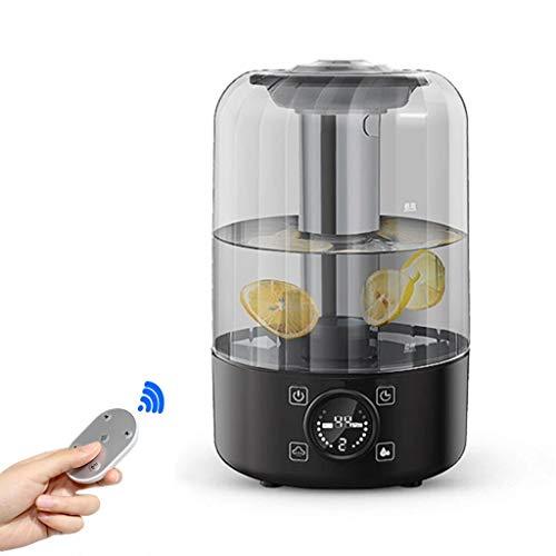 LuxTai Aromatherapie ätherisches Öl Diffusor 4L 8Hrs Aroma Diffuser mit kühlem Nebel-Befeuchter for große Zimmer, Wohnhaus, Baby-Schlafzimmer, Wasserlos automatische Abschaltfunktion