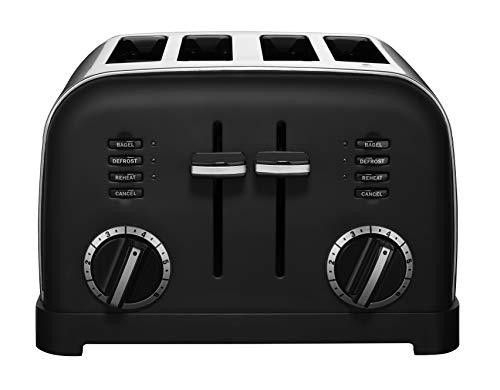Cuisinart CPT-180MB 4-Slice Metal Classic Toaster, Matte Black