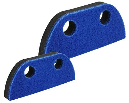 Lantelme 2 teiliges Schaumstoff Ersatz Schwamm Set für Schaumstoffbesen und Handbesen 4160