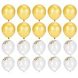 YICHENGqiche Juego de de Lentejuelas 2021 Accesorios de Decoración de Juego de Arco de Confeti Dorado Utilizado para Bodas Duchas de Bebés Fiestas de Cumpleaños Decoraciones de