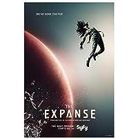 エクスパンスシーズン1(2015)TVシリーズポスターとプリントキャンバス絵画壁アート家の装飾キャンバスにプリント-50x70cmフレームなし