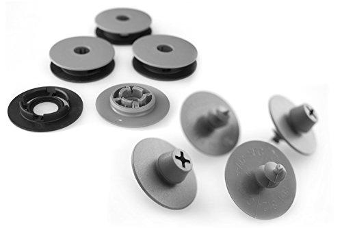 kh Teile Fußmatten Druckknopf Befestigung + Halter Automatten