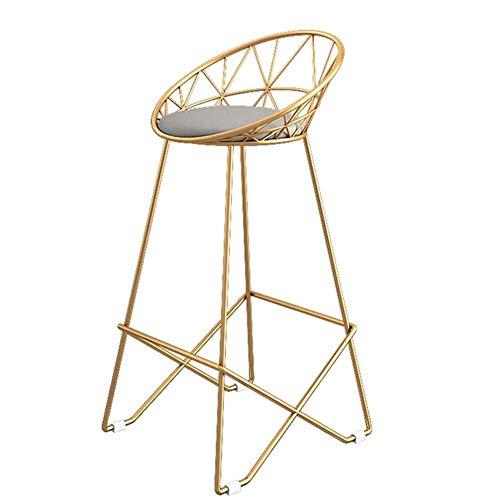Gestoffeerde stoelen worden terug in de keuken eet/kroegen metalen poten, barkruk met kunstleren kussen, maximale belasting 200 kg.
