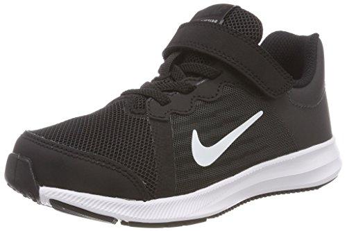 Nike Jungen Kleinkinder Sneaker Downshifter 8 (PSV) Laufschuhe, Schwarz (Black/White-Anthracite 001), 29.5 EU