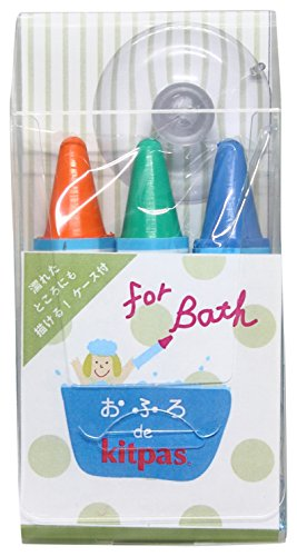 日本理化学 おふろdeキットパス 3色 POPなおえかきカラー KF3S-1
