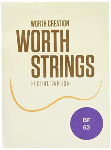 Worth Strings BF ウクレレ弦 ブラウンファット 63 インチ フロロカーボン