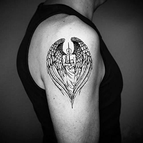 Tatouage Temporaire Ange gardien (2 Pièces) - ohmytat.com