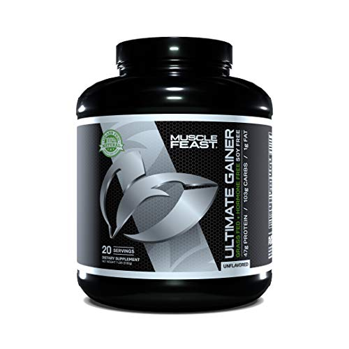 Grass Fed Hormone Free Ultimate Weight Gainer 7 Pounds (Unflavored)