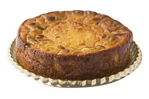 砂糖不使用デーツを使った南瓜のチーズケーキ