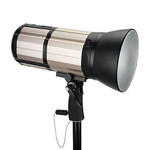 Akozon Flash de la cámara K8 800W 5000K GN103 HSS 1 / 8000s 2.4G Flash estroboscópico inalámbrico Speedlite portátil(UE)