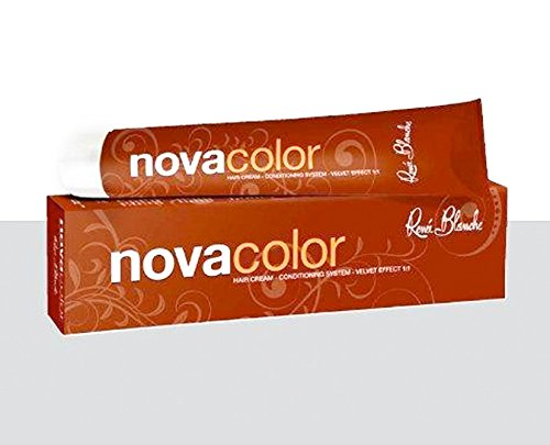 Teinture professionnelle Nova Color - Renée Blanche - Blond Foncé Chocolat