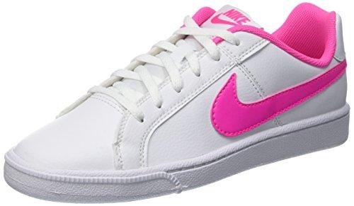Nike Court Royale (GS) - Zapatillas de deporte Niñas, Blanco (Blanco (White / Pink Blast)), 38 1/2