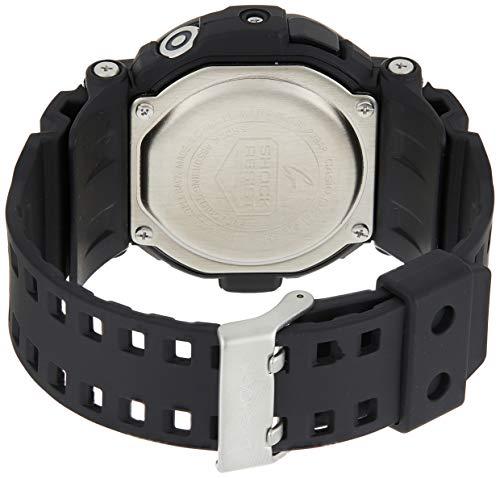 Casio Homme Digital Quartz Montre avec Bracelet en Rsine GD350-1B