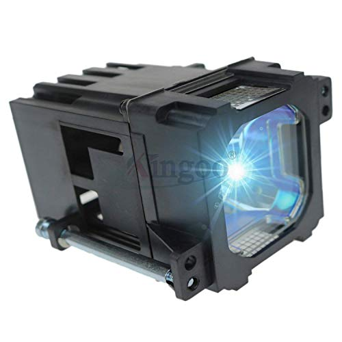 Kingoo Excellent Projector Lamp for JVC DLA-HD1 DLA-HD10 DLA-HD100 DLA-RS1 DLA-RS1X DLA-RS2 DLA-VS2000 Replacement Projector Lamp Bulb with Housing