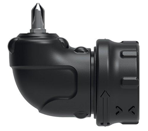 Black+Decker CSRA1 Haakse opzetstuk (geschikt voor 3.6V accuschroevendraaier CS3651LC, CS3652LC, CS3653LC, voor het boren in hoeken, voor moeilijk bereikbare plaatsen)