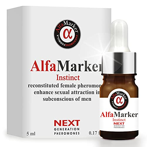 Alfamarker Pheromone Perfume for Women to Attract Men Concentrated Oil Female Fragrance Formula of Human Pheromones for Her Premium Scent Instinct 5 ml Great Holiday Gift
