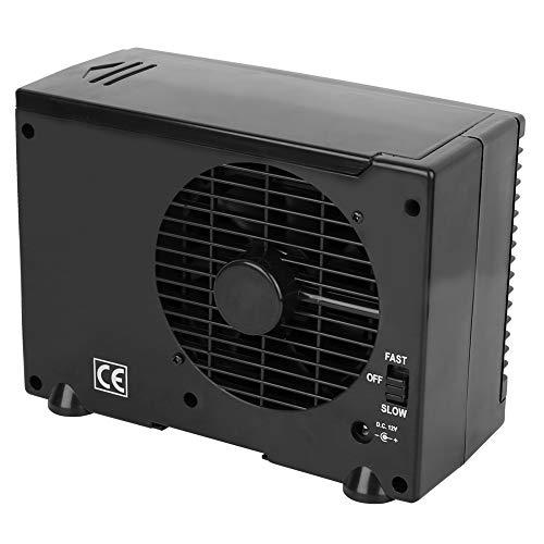 Deryang Ventilador de enfriamiento, evaporador de Aire Helado portátil, versatilidad de Escritorio de 2 velocidades para Sala de Estar y Dormitorio