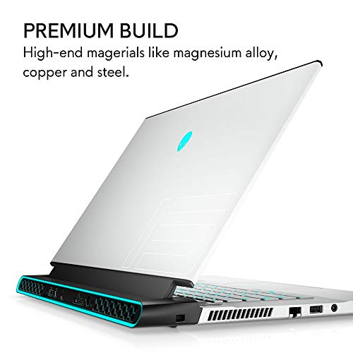 New Alienware m15 15.6 inch FHD Gaming Laptop (Lunar Light) Intel Core i7-10750H 10th Gen, 32GB DDR4 RAM, 1TB SSD, Nvidia Geforce RTX 2080 Super 8GB GDDR6, Windows 10 Home (AWm15-7937WHT-PUS)
