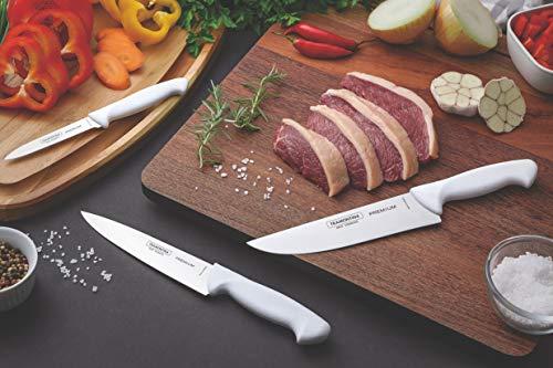 Tramontina Lot de 3 couteaux professionnels.